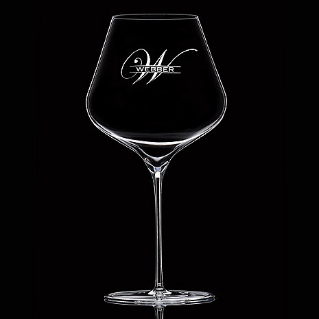 Personalized ZENOLOGY Pinot Noir Wine Glasses (Set of 2)