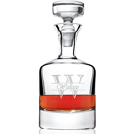 Personalized Amsterdam Whiskey Decanter