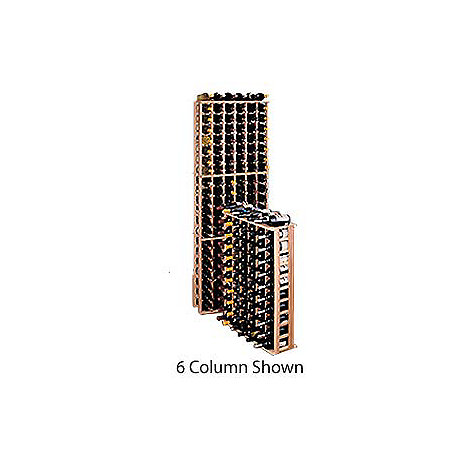 Redwood Modular Wine Rack Kit - 63 Bottle 3 Column