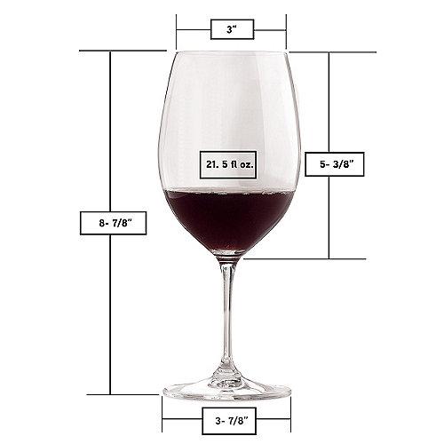 Riedel Vinum Cabernet Merlot Bordeaux Wine Gles Set Of 2