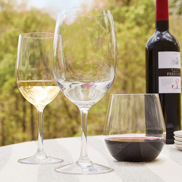 Indoor Outdoor Wine Glass Party Pack Set of 12