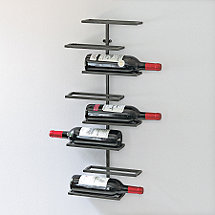 8 Bottle Urban Wall-Mounted Wine Rack
