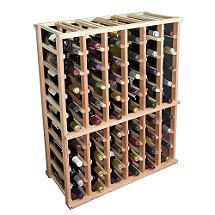 Sonoma Designer Wine Rack Kit - 6 Column Half Height