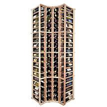 Sonoma Designer Wine Rack Kit - 4 Column Corner Rack w / o Display