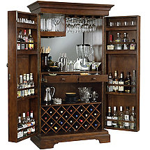 Howard Miller Sonoma Armoire Wine Cabinet