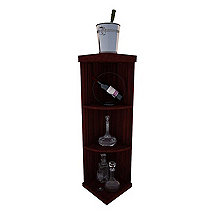 Napa Vintner Stackable Wine Rack - Quarter Round Shelf Rack