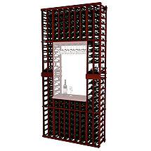Napa Vintner Stackable Wine Rack - 10 Column Individual w / Display