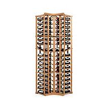 N'FINITY Wine Rack Kit - 4 Column Curved Corner with Display