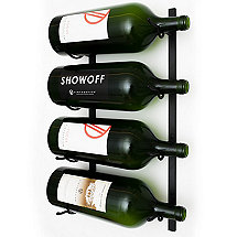 VintageView Wall Series Big Bottle Wine Rack (4 Bottle)