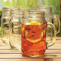 Mason Jar Glass (Set Of 4)