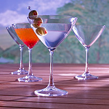 Indoor/Outdoor Martini Glasses (Set of 4)