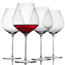 Fusion Air Pinot Noir Wine Glasses (Set of 4)