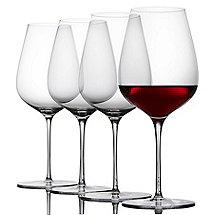 Fusion Air Bordeaux Wine Glasses (Set of 4)