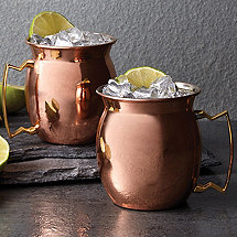 Copper Moscow Mule Mug 16 oz (Set of 2)