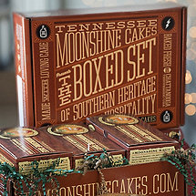 Tennessee Moonshine Cake Gift Box (Set of 3)