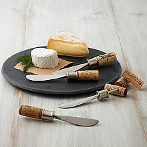 Cork Cheese Spreaders Kit (Set of 4)