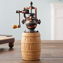 Reclaimed Wine Barrel Pepper Grinder