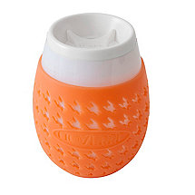 Goverre Portable Stemless Wine Glass (Orange)
