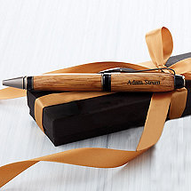 Personalized Authentic Whiskey Barrel Cigar Pen