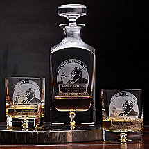 Pappy Van Winkle's Whiskey Decanter & Glasses Set