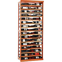 N'FINITY Label-View Wine Rack Kit with Rolling Shelves