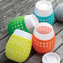 Goverre Portable Stemless Wine Glass Set (Set of 4)