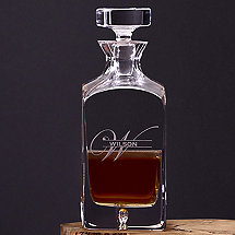 Personalized Lexington Whiskey Decanter