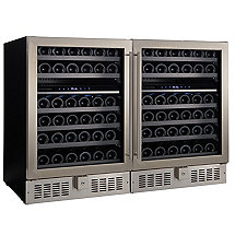 N'FINITY PRO2 Double S Wine Cellar (Stainless Steel)