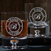 Personalized Lexington Whiskey Glasses (Set of 2)