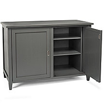 Firenze Mezzo Wine and Sprits Credenza (Antique Grey)