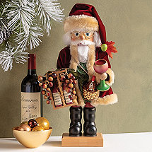Christian Ulbricht Solid Wood Wine Nutcracker