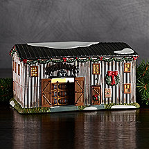 Jack Daniels Hand-Painted Light Up Barrel House