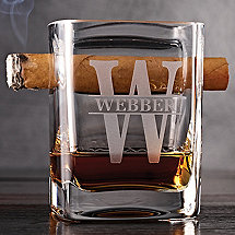 Personalized Corkcicle Cigar Glass