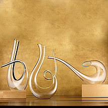 Wine Enthusiast Art Series Decanter Collection (3- Piece Set)