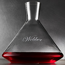 Personalized ZENOLOGY Wine Decanter