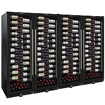 Wine Enthusiast VinoView 620-Bottle Quad Wine Cellar