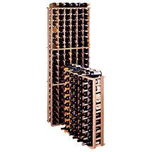 Redwood Modular Wine Rack Kit - 66 Bottle Reduced Height