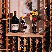 Redwood Modular Wine Rack Kit - Table Top